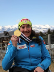 Gold Medal of the  Super-G