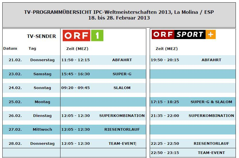 Fernsehprogramm österreich Heute